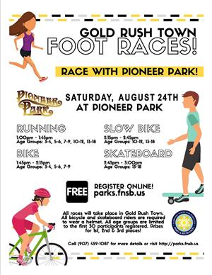 Foot Races Aug 24th