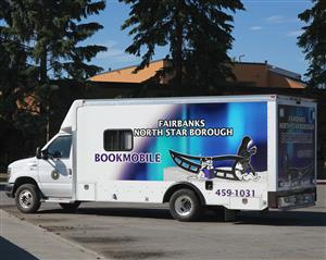 Our Bookmobile comes to you!  Each Saturday we visit a community, please see our schedule for details or call us at 459-1031